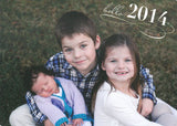 566 New Year's Holiday Card