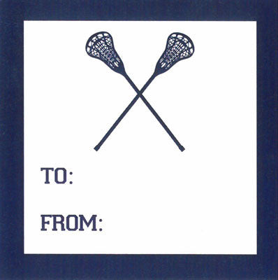 Sports Lacrosse Gift Sticker