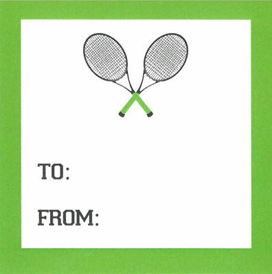 Sports Tennis Gift Sticker