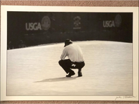 Phil Mickelson Speechless 2006 US Open (Jules Signature Included)