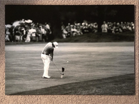 Rory McIlroy Original Print (Jules Signature Included)