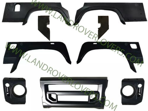 LAND ROVER DEFENDER 110 BODY KIT AND FRONT GRILLE