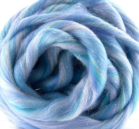 Elsa Blu   Merino and Stella Combed Top!  So beautiful!