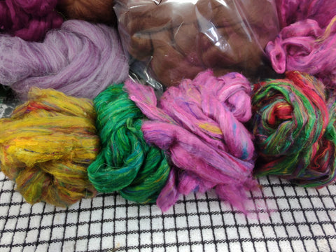 GRAB MIXED BAG FOR GROUp members 1st quality mixed top silks end of order bags 1 pound