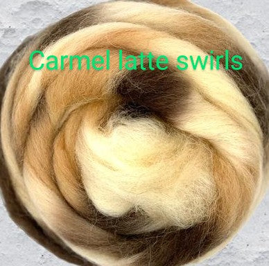 CARAMEL LATTE SWIRL BLEND ONE POUND GROUP SALE on order