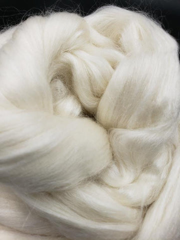 1lb Merino X Bamboo X Silk Combed Top  Oh, MY!!