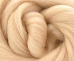 1lb Eggshell Superfine Merino Combed Top 18.5mic