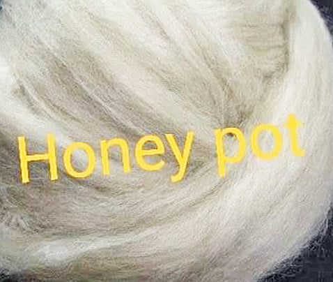 1lb Honey Pot Combed Top