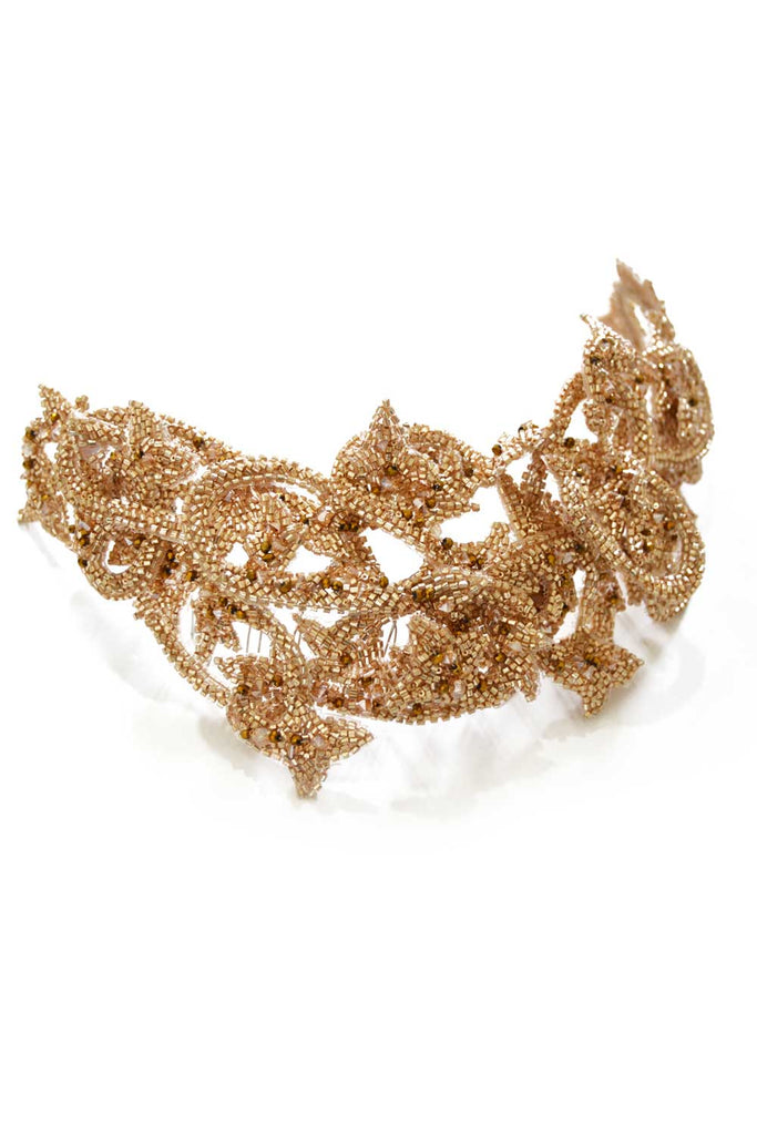 GOLD ROYALTY HEADPIECE