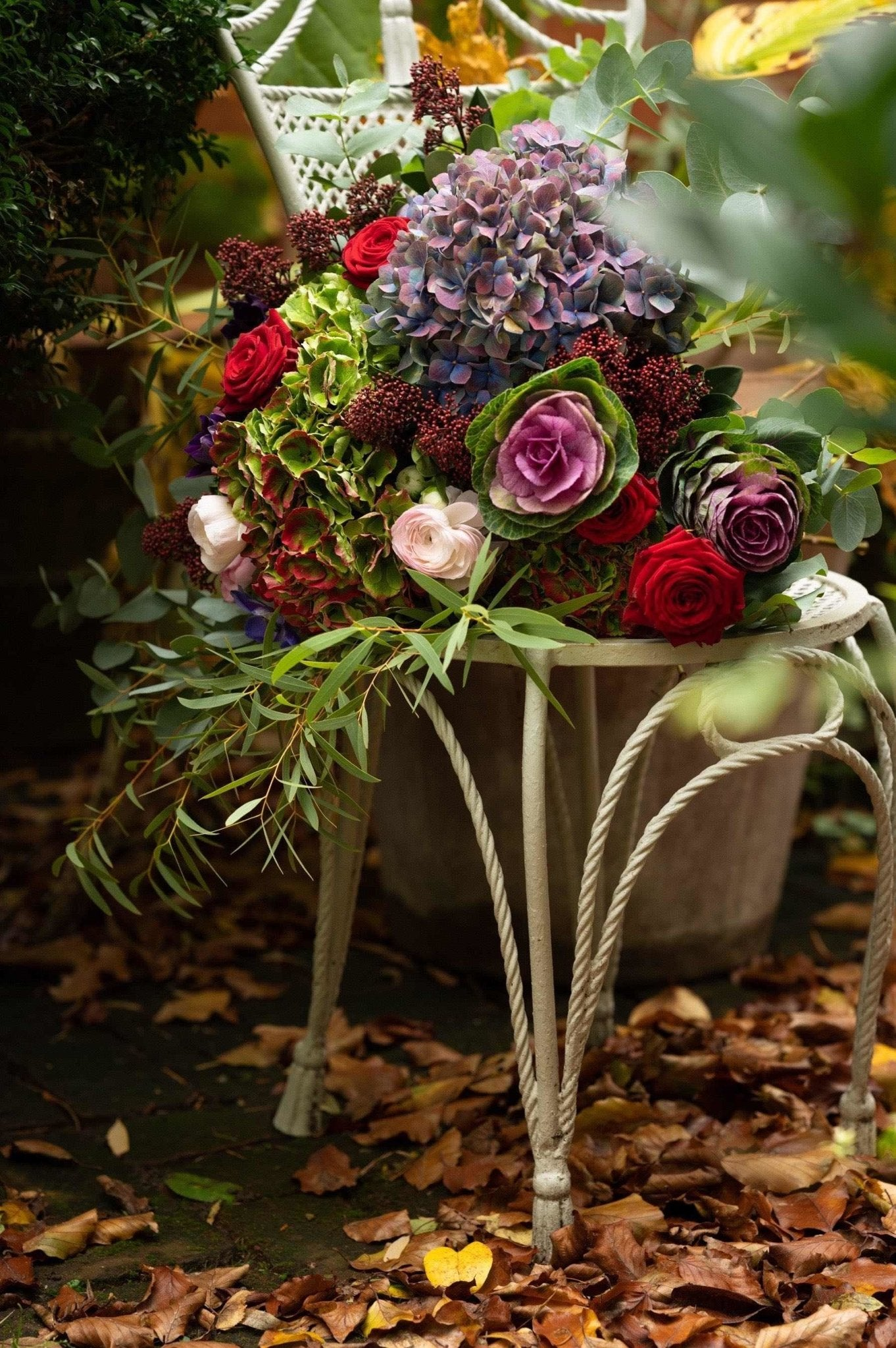 Luxury Christmas Bouquet - Lucy Vail Floristry