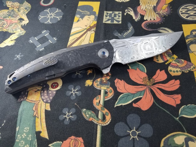 reate j.a.c.k flame grain damasteel