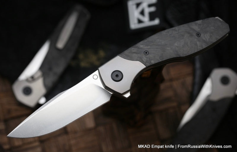 Custom Knife Factory MKAD Empat Carbon Fiber M390