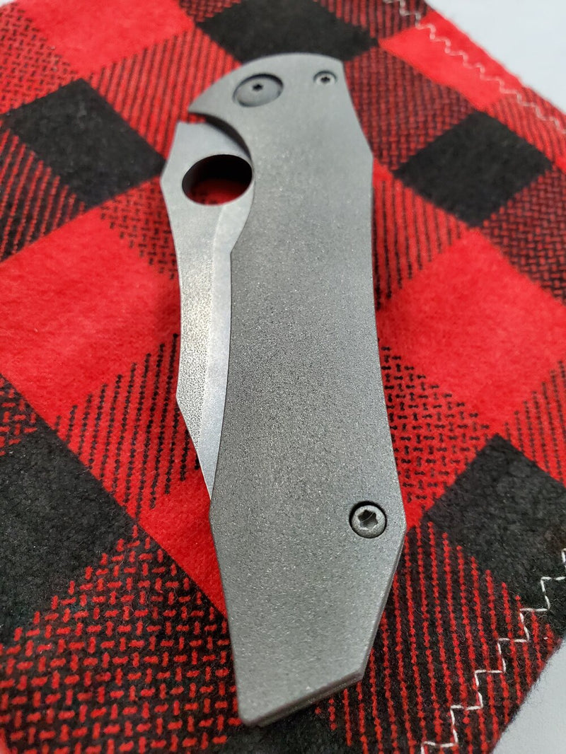 Gavko Knives Gnarly Blast Spydie Tiger Pre Owned