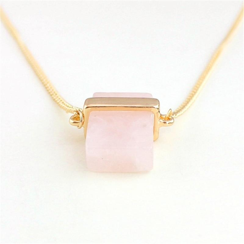 Pink Quartz Love Necklace - Inner Manifestation