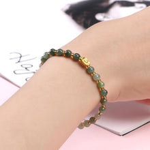 Load image into Gallery viewer, Green Jade Lucky Bracelet - Inner Manifestation