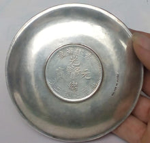 Load image into Gallery viewer, Chinese Zodiac Signs Silver Wealth Dish Plate