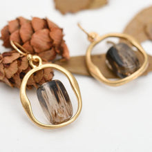 Load image into Gallery viewer, Smoky Quartz Earrings - Limited Edition - Inner Manifestation