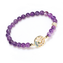 Load image into Gallery viewer, Natural Amethyst Healing Bracelet - Limited Edition - Inner Manifestation