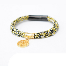 Load image into Gallery viewer, Tree of Life Charm Handwoven Bracelet - Inner Manifestation