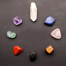 Load image into Gallery viewer, Natural Crystal Chakra Healing Stones - Inner Manifestation