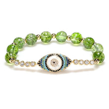 Load image into Gallery viewer, Natural Peridot Abundance Bracelet - Inner Manifestation