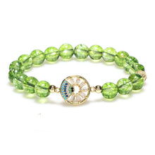 Load image into Gallery viewer, Natural Peridot Energy Bracelet - Inner Manifestation