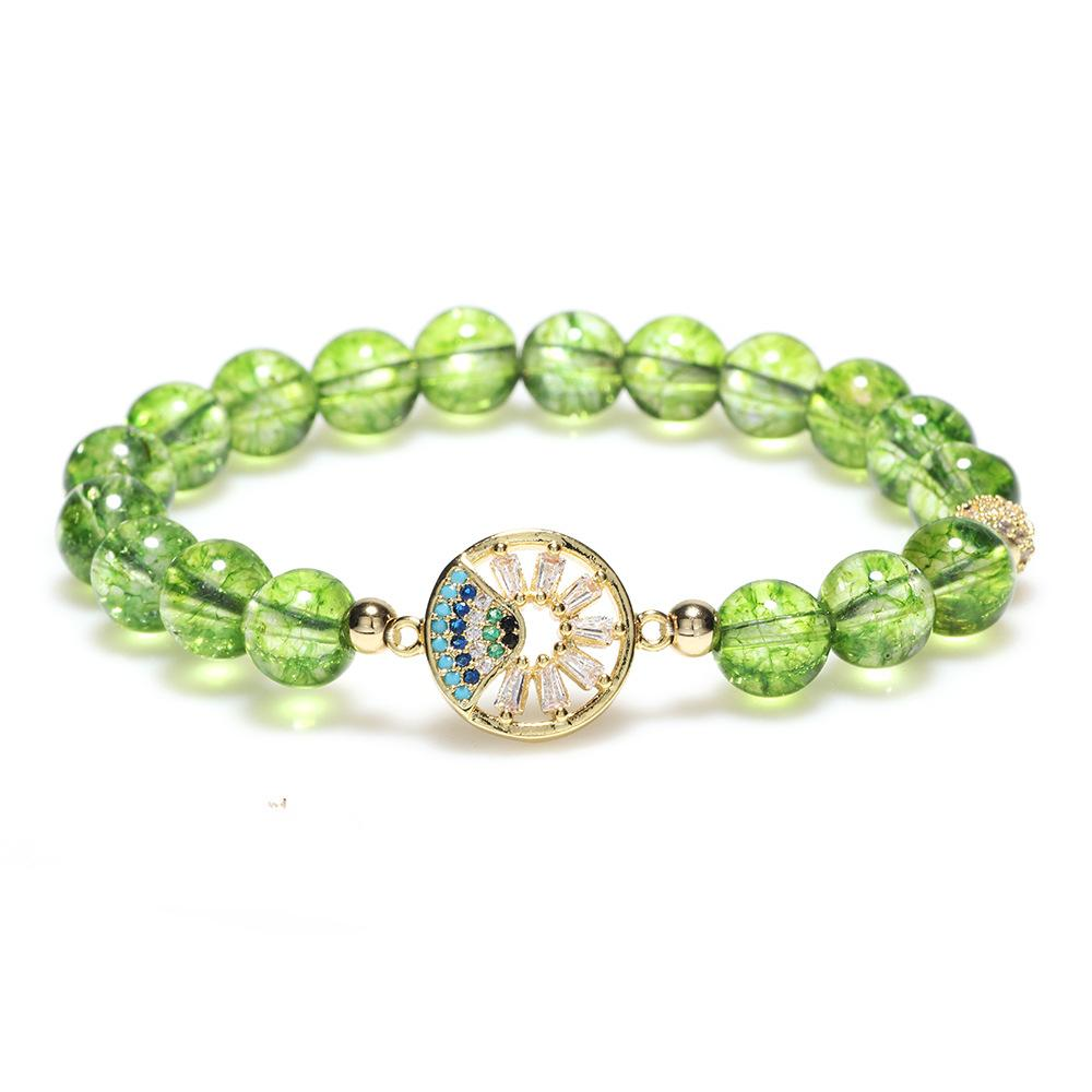 Natural Peridot Energy Bracelet - Inner Manifestation