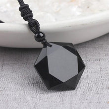 Load image into Gallery viewer, Black Obsidian Talisman - Inner Manifestation