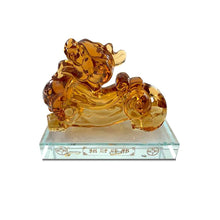 Load image into Gallery viewer, Luck and Wealth Piyao Citrine Figurine - Inner Manifestation