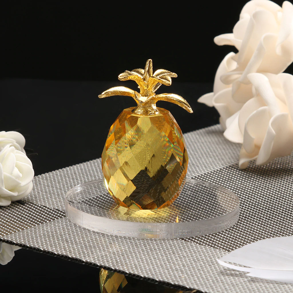 Feng Shui Crystal Pineapple Art Collection
