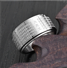 Load image into Gallery viewer, Compassion Mantra Ring - Inner Manifestation