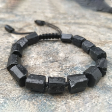 Load image into Gallery viewer, Black Tourmaline Anti-Stress Bracelet - Inner Manifestation