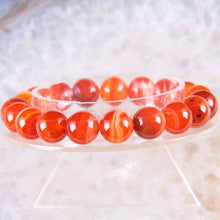 Load image into Gallery viewer, Anti Depression Carnelian Bracelet - Inner Manifestation