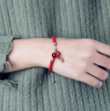 Load image into Gallery viewer, Lucky Red Money Bag Bracelet - Inner Manifestation