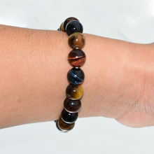 Load image into Gallery viewer, Tiger Eye Protection Bracelet - Inner Manifestation