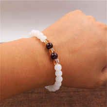 Load image into Gallery viewer, Natural White Chalcedony Positivity Bracelet - Inner Manifestation