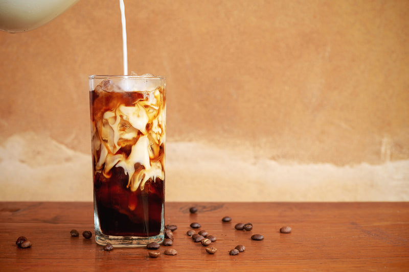 House Premium Salted Caramel Iced Coffee (Dimple Size 24oz)