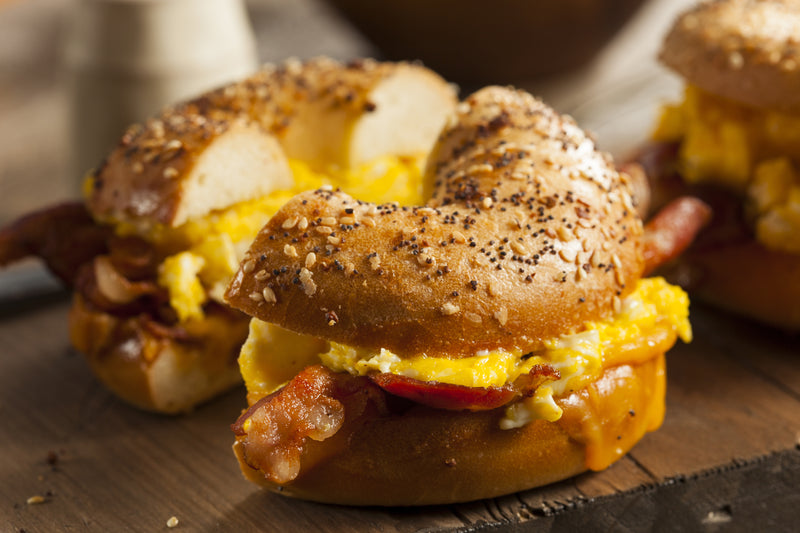 Bacon, Egg, & Cheese Breakfast Sandwich