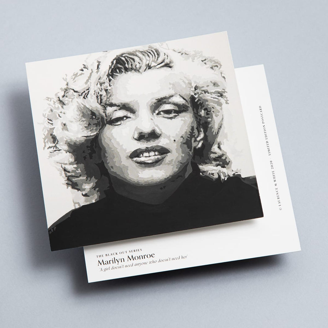 Marilyn Monroe Limited Edition Mini Print