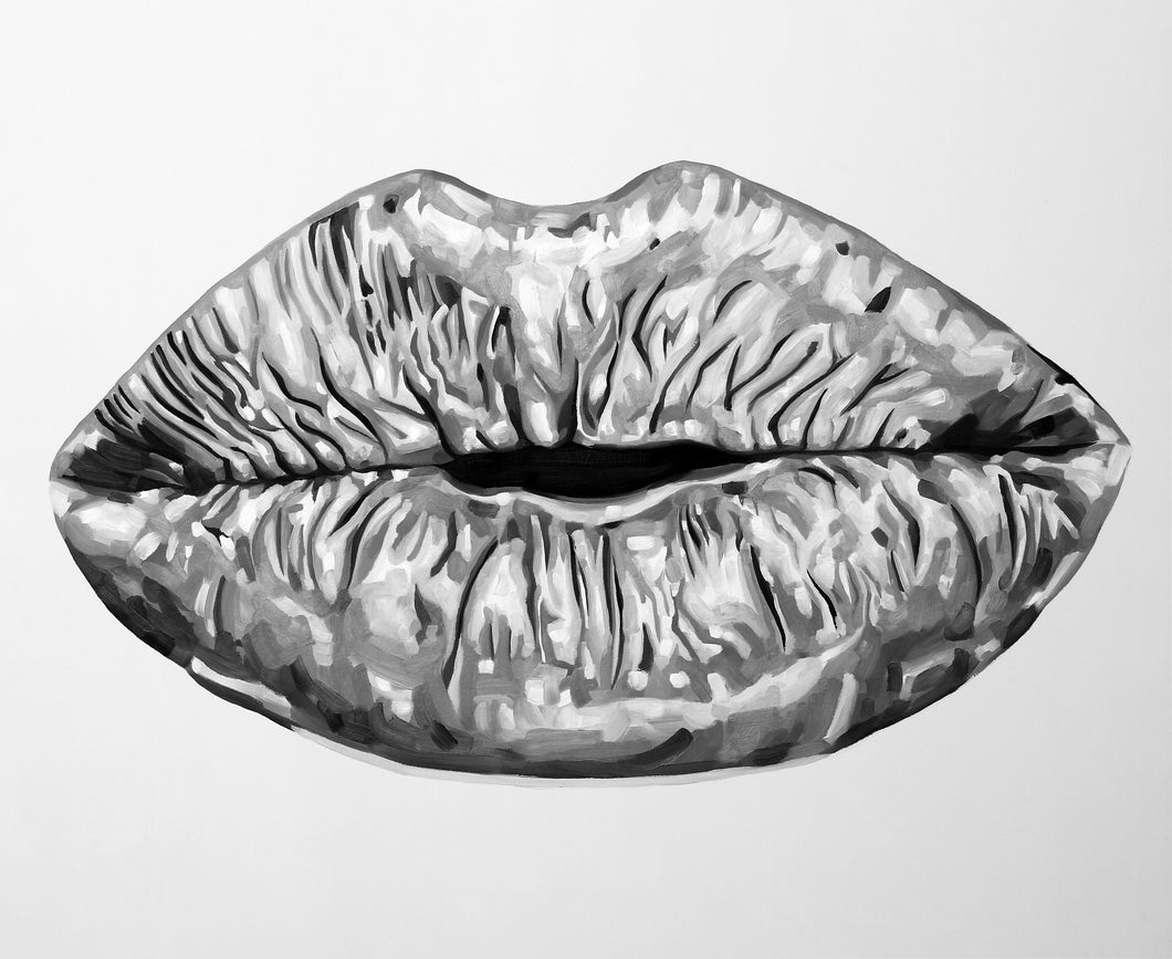 Lips (Black & White) Limited Edition PRINT