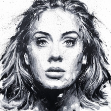 Load image into Gallery viewer, Adele Limited Edition PRINT