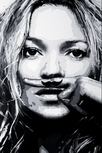 Load image into Gallery viewer, Kate Moss ORIGINAL PAINTING