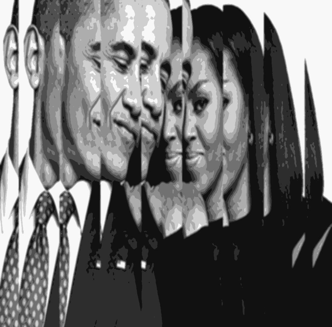 The Obamas Limited Edition PRINT