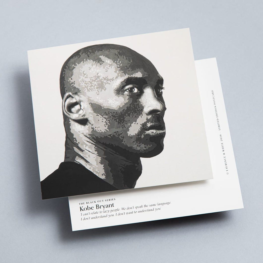 Kobe Bryant Limited Edition Mini Print