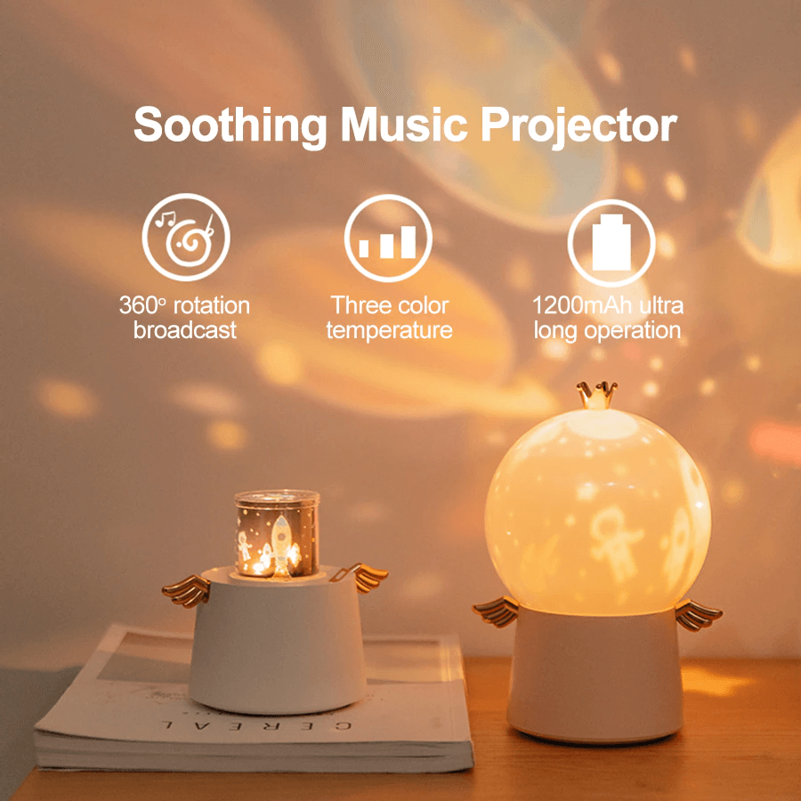Multifunction LED Projector Night Light