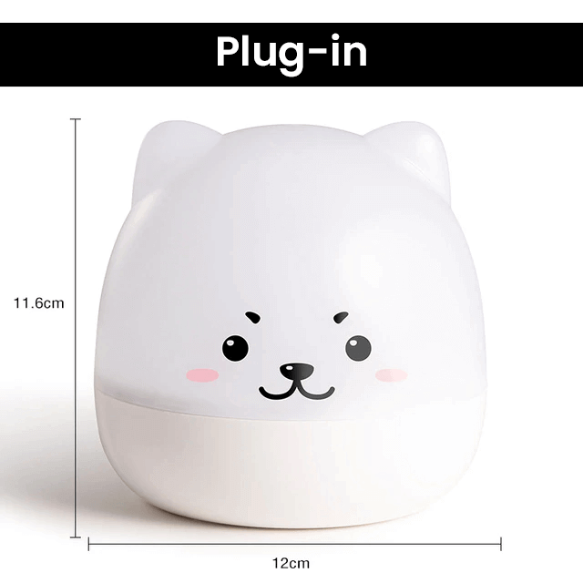 Cute Bear Star Projector Night Light