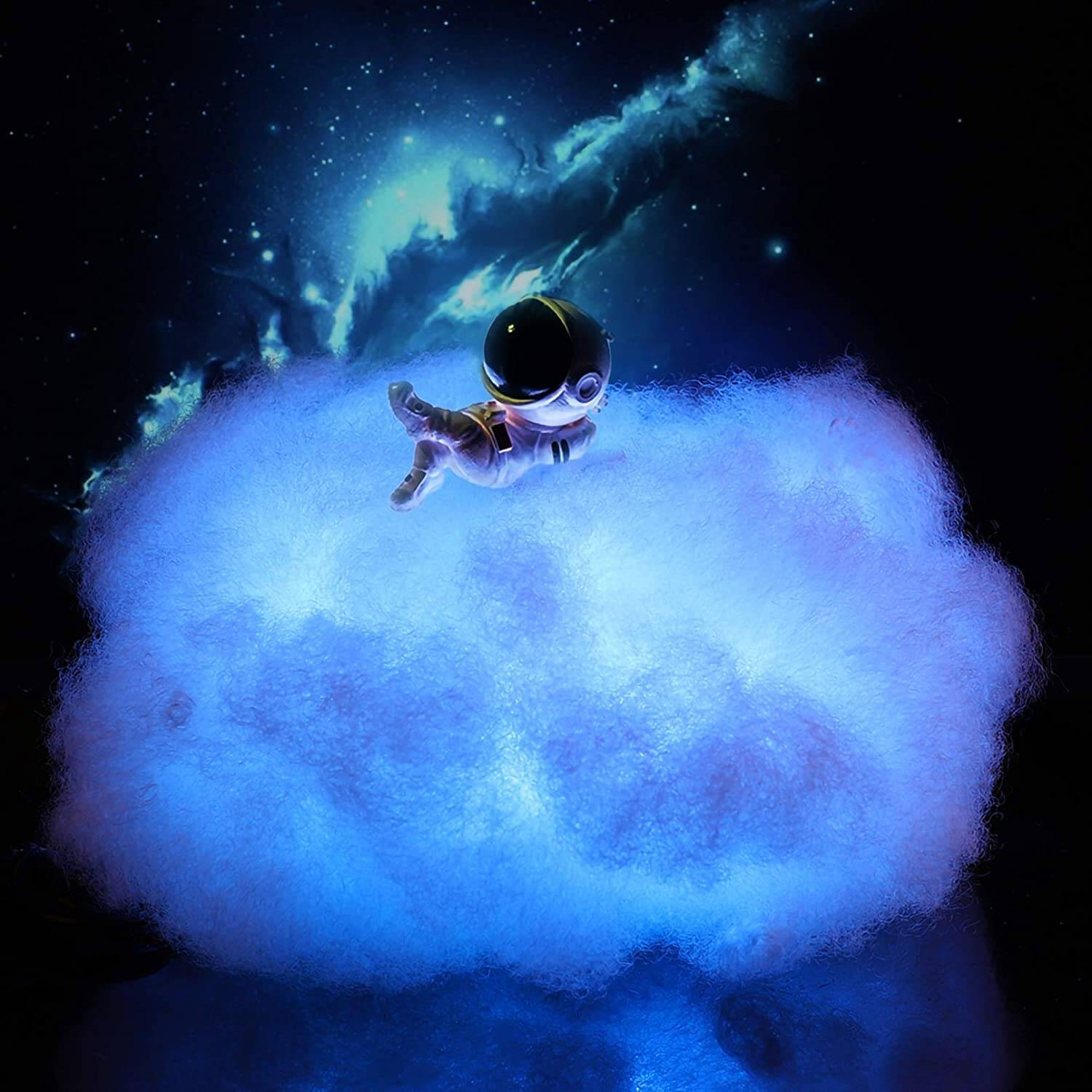 Colorful Cloud Astronaut Lamp