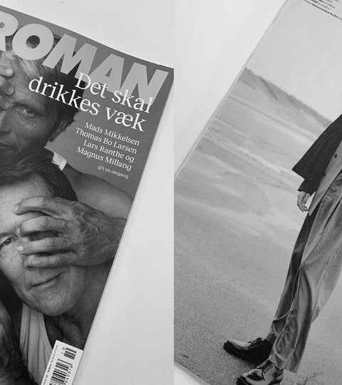Democratique Socks in danish lifestyle magazine EUROMAN - Democratique Socks