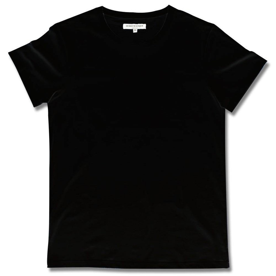 Supreme T-shirt BLACK DEMOCRATIQUE UNDERWEAR - Democratique Socks