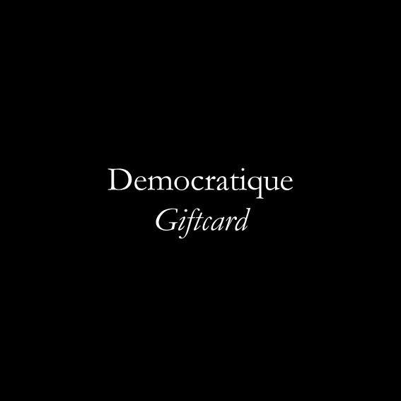 Democratique Giftcard - Democratique Socks